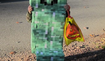 Minecraft Creeper Halloween Costume