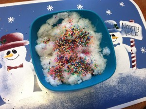 Snow With Sprinkles