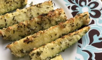 Parmesan Zucchini Slices